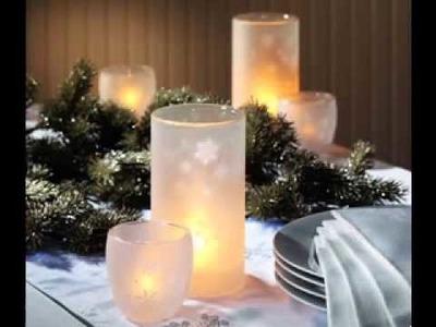 DIY Wedding candle centerpieces ideas