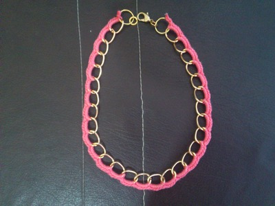 Easy Crochet Necklace