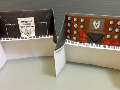 Free Origami Piano Paper - Print Your Own! - Piano and Synthesizer