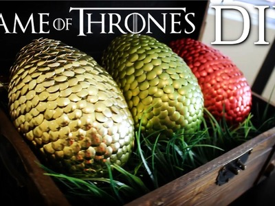 Game of Thrones Easter DRAGON EGGS DIY