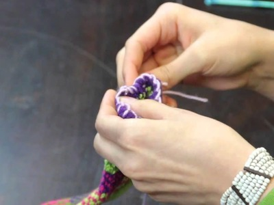 How to Crochet Edging for Socks : Crochet Stitches & Techniques