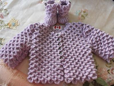 How To Crochet The Crocodile Stitch Cardigan
