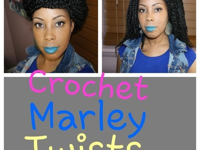 HOW TO: Crochet Twists w.Marley Hair