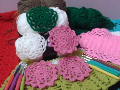 How to Crochet unit circular ( video tutoria)