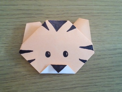 How To Make A Simple Origami Tiger