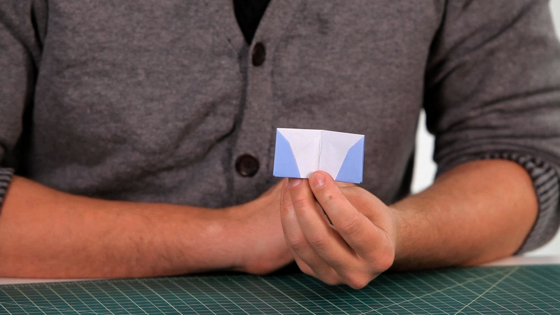 How to Make a Wallet   Origami