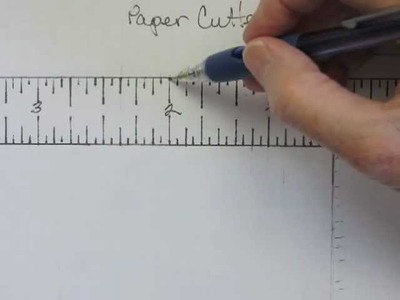 How to Read 16ths of an Inch on Rulers and Paper Cutters