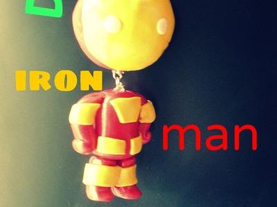 Llavero iron man- gift idea boyfriend ( DIY) how to.
