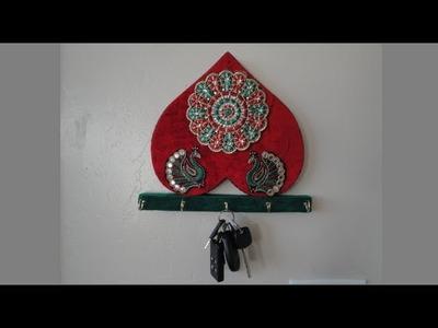 Making of a key holder