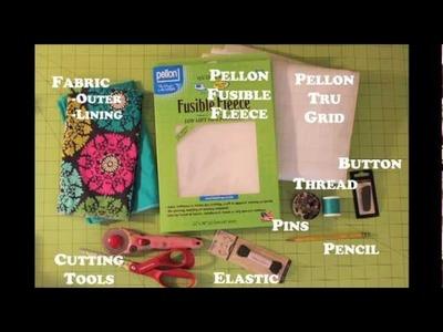 Modern Girl Clutch Tutorial (DIY)- Whitney Sews