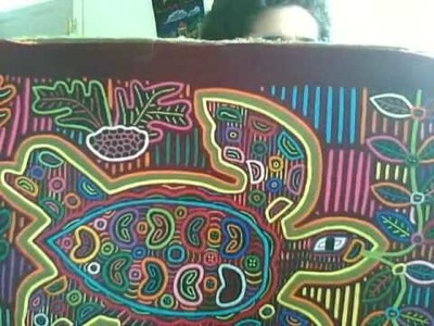 MOLA ART AND CRAFTS FROM PANAMA