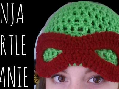 Ninja Turtle Beanie | Crochet Pattern | Character Creation Tutorial
