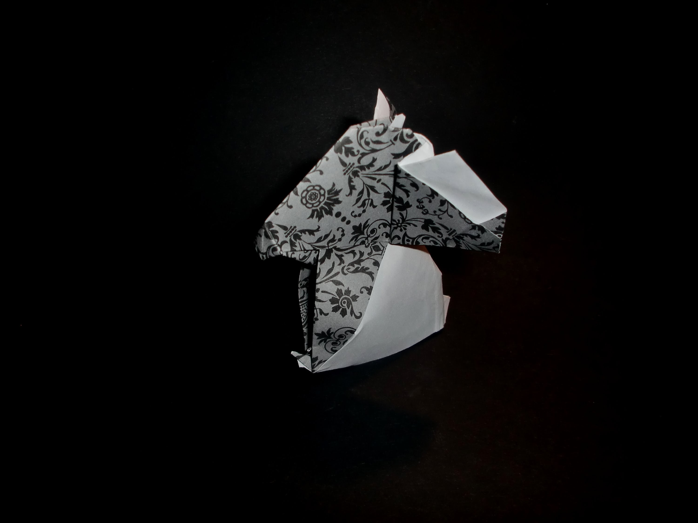 Origami Koala Bear (easy) - Tutorial [HD]