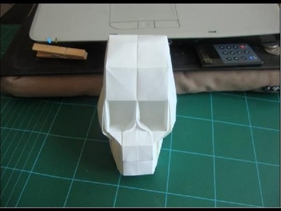 Origami Skull By Hojyo Takashi Help with Hard steps (26-31 and 37-38)