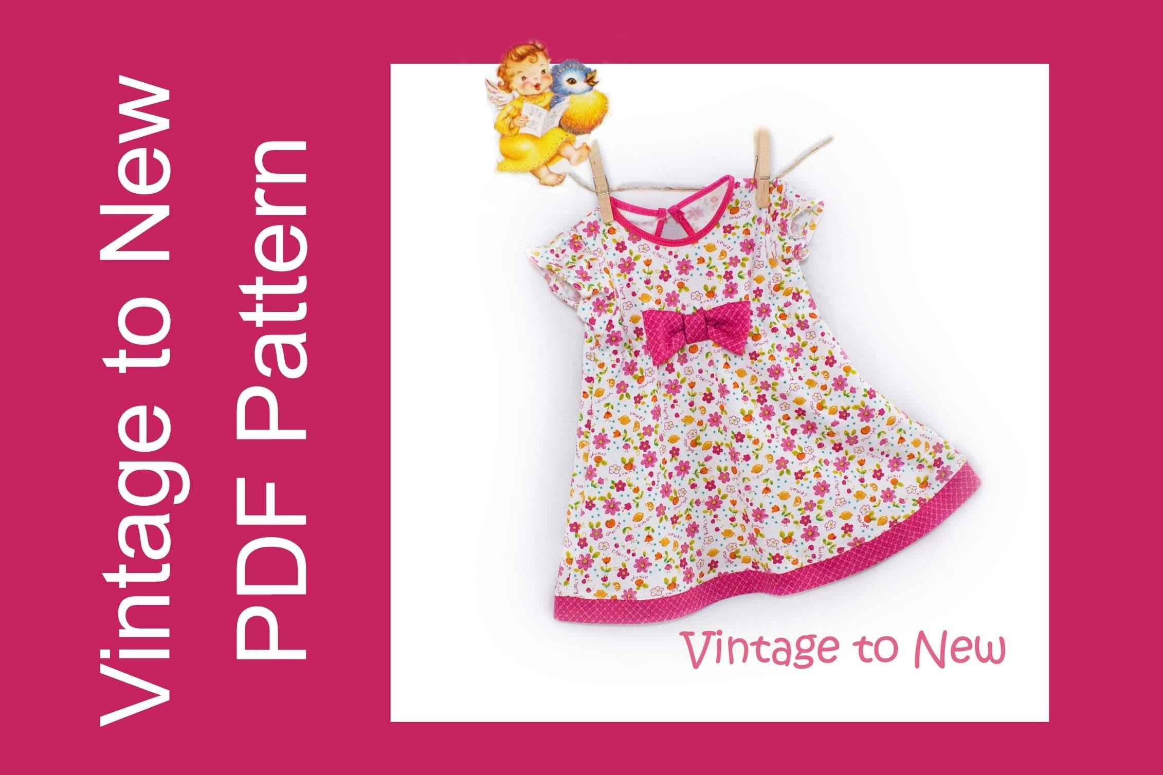 Pattern Tutorial for Jenny's Simple Knit Dress