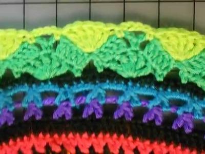 Rings of Change crochet pattern photo slideshow
