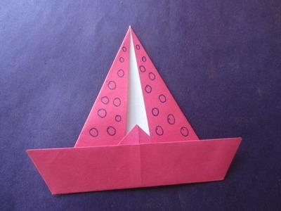 Sail-Boat-kids like simple craft art