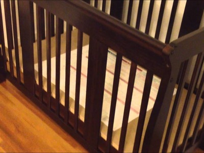 Stork Craft Tuscany 4-in-1 Stages Crib Review