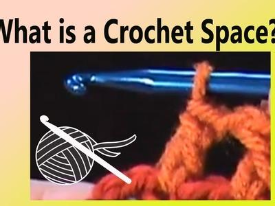What is a Crochet Space? Crochet Geek