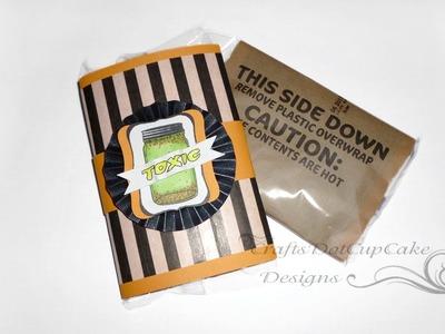 #9 Halloween Crafts Series 2012 - Popcorn Holder - Tutorial