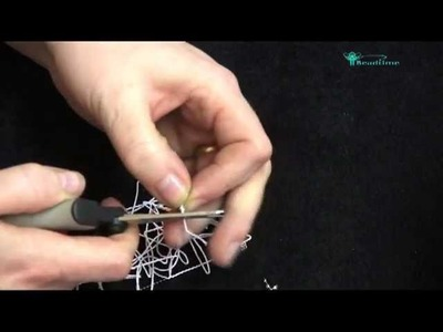 Bead Time Tutorial Working With Silk String And Clamshell Finish