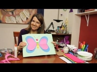 Butterfly Crafts Using Heart Shapes : Fun & Simple Crafts