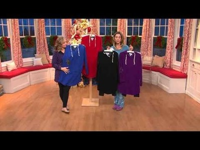 Carole Hochman Pullover Legging Pajama with Hoodie and Pocket with Stacey Stauffer