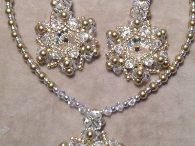 Christmas Star Earrings and Pendant Tutorial