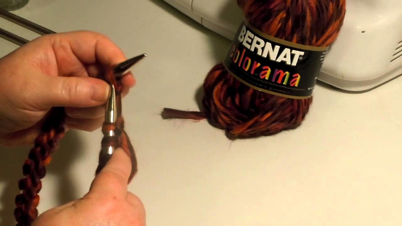 Circular Knitting In the Round with Circular Needles