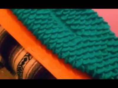 Completed Crochet Mermaid Blanket