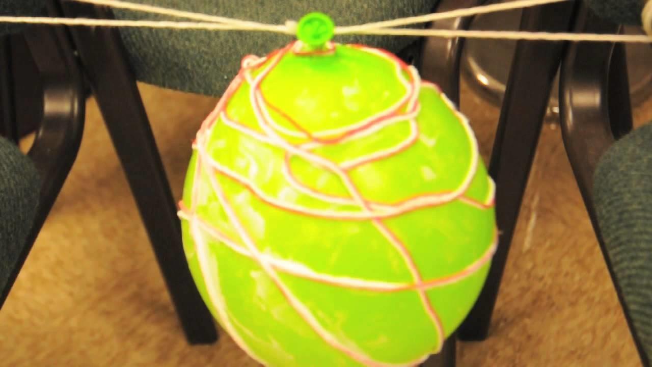 Craft How-To: String Lantern