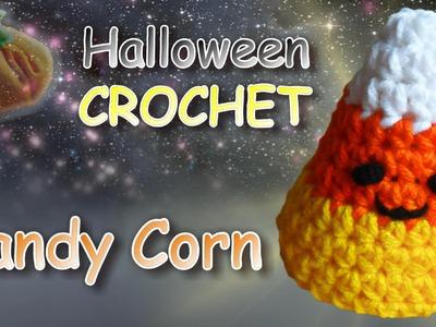 Crochet Candy Corn Tutorial - Half Double Crochet Stitch
