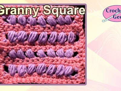 Crochet Geek Square