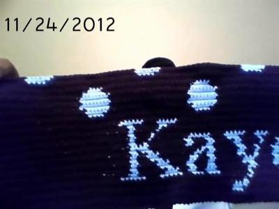 Crochet Polka Dot Blanket