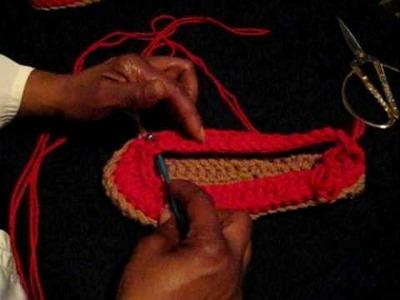 Crochet Top of Loafer pt3