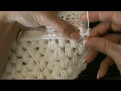 Crochet Vintage Inspired Puff Stitch Hat #4