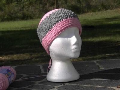 Dimple Hat Crochet Tutorial