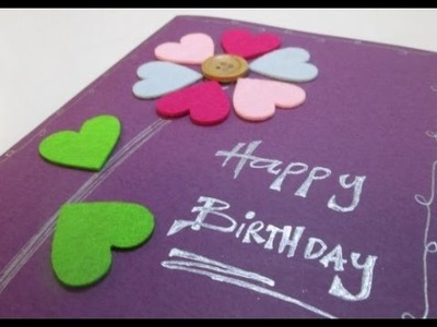 DIY : #57 Birthday Gift Card ♥