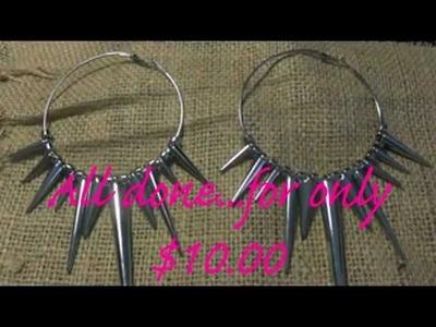 DIY Basketball Wives Inspired Earrings Kit (Only $10.00)