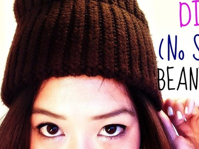 DIY BEANIES! (No Sew Required!)