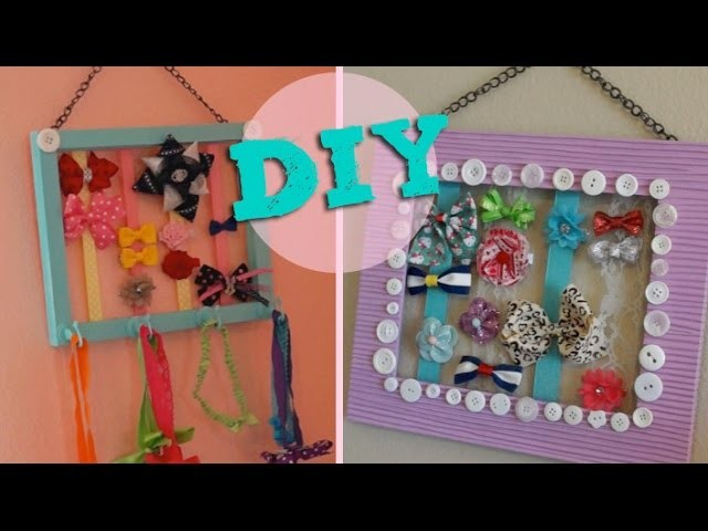 DIY - Bow & Headband Frame!!