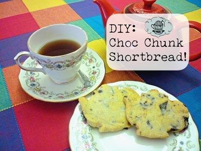 DIY: Chocolate Chunk Shortbread ¦ The Corner of Craft
