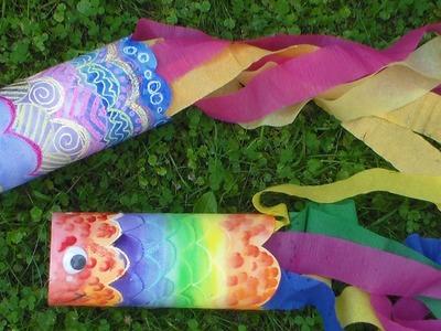 DIY Fish Windsock Decoration