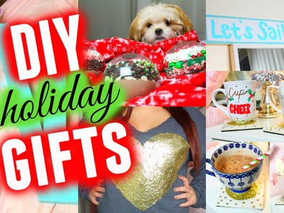 DIY Holiday Gifts! Cute, Easy, & Cheap!