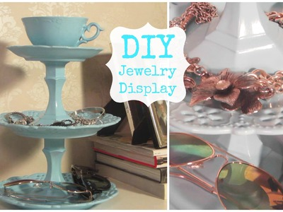 DIY Jewelry Display & Room Decor