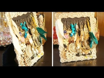 DIY: Picture Frame Jewelry Holder - Charmaine Manansala