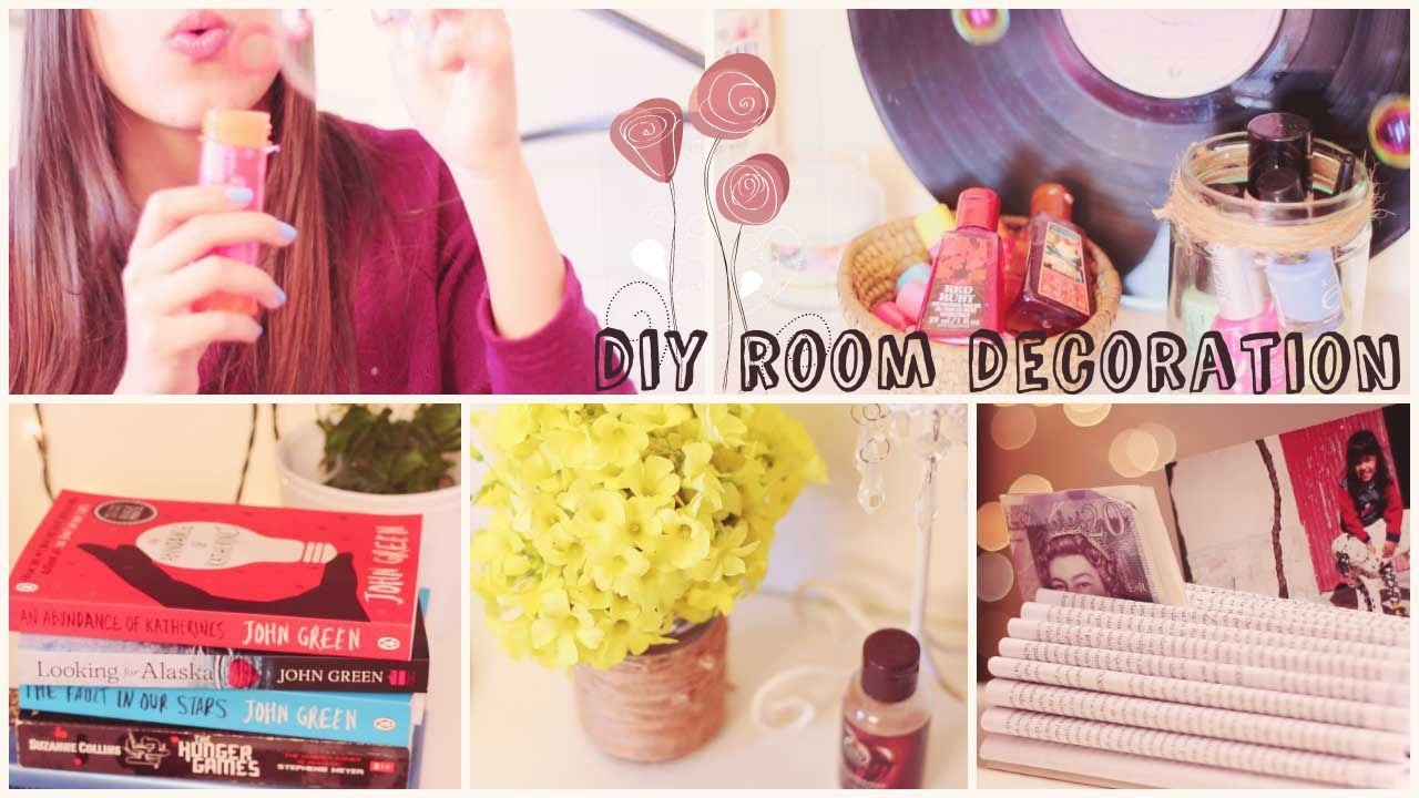 DIY Spring Room Decoration + Giveaway!