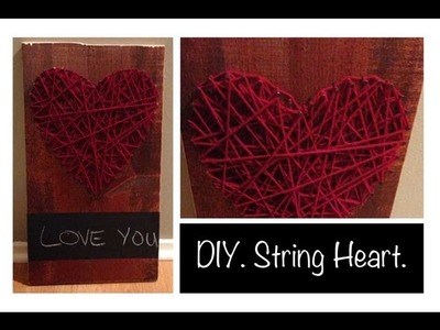 DIY. String Heart