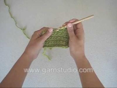 DROPS Crochet Tutorial: How to decrease in crochet