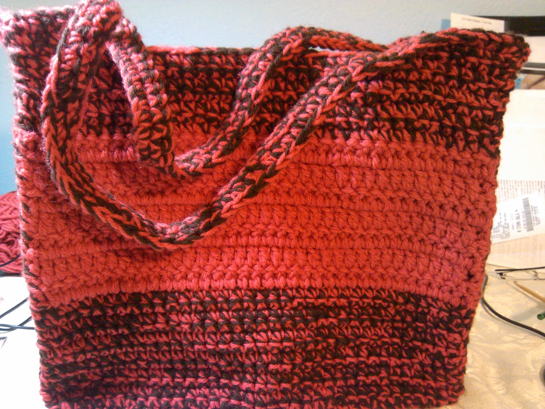 Easy Beginner crochet bag